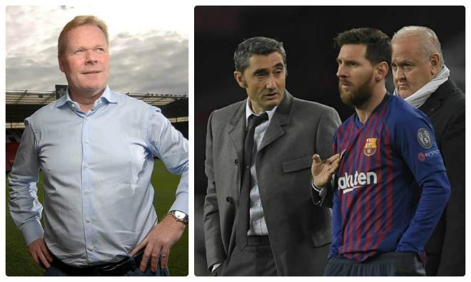 Biến ở Barca: Lộ bằng chứng huyền thoại sắp thay Valverde làm thầy Messi - 1