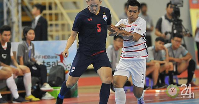 Dọa chủ nhà Việt Nam, Thái Lan thắng cực khủng tại giải futsal Đông Nam Á