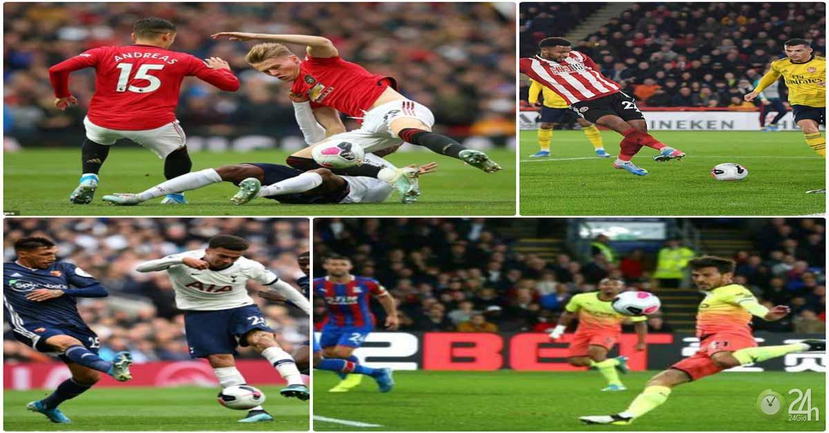 Điểm nóng vòng 9 Ngoại hạng Anh: Tiếc cho MU, thất vọng Tottenham - Arsenal