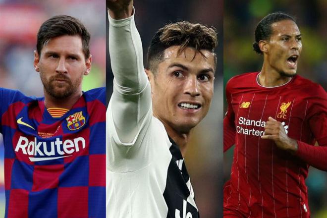 """Chốt đề cử ẵm """"Quả bóng Vàng 2019"""": Messi, Ronaldo đấu dàn tinh tú nào? - 1"""