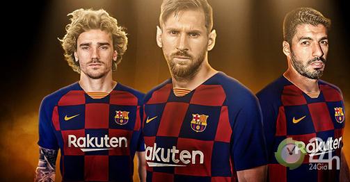 Messi, Suarez, Griezmann phối hợp miễn chê, Barca bay cao trên đỉnh La Liga