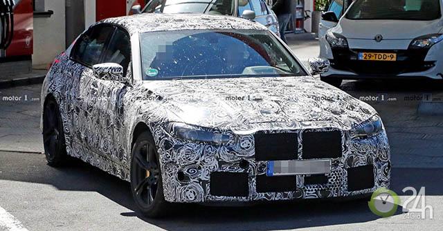 BMW M3 thế hệ mới (G80) lộ ảnh chạy thử trước ngày ra mắt
