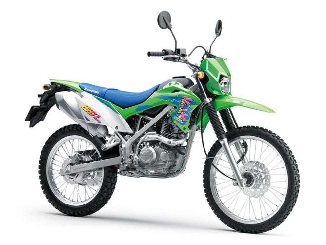 Cào cào Kawasaki KLX150 ra màu mới: Giá từ 52 triệu đồng