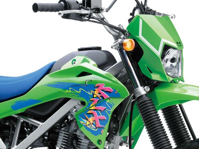 Cào cào Kawasaki KLX150 ra màu mới: Giá từ 52 triệu đồng - 2
