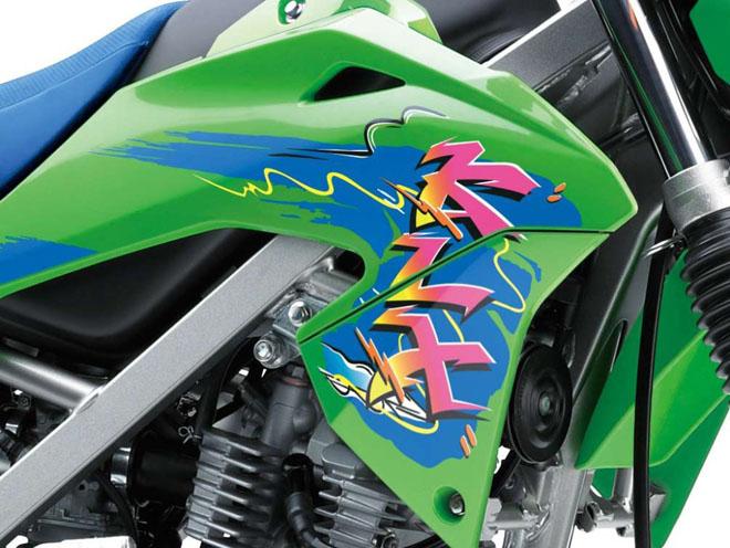 Cào cào Kawasaki KLX150 ra màu mới: Giá từ 52 triệu đồng - 3