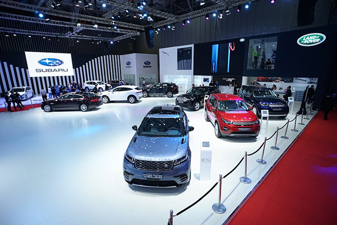 Jaguar Land Rover mang đến không gian đậm chất thể thao tại VMS 2019 - 1