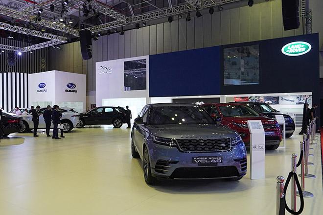 Jaguar Land Rover mang đến không gian đậm chất thể thao tại VMS 2019 - 2