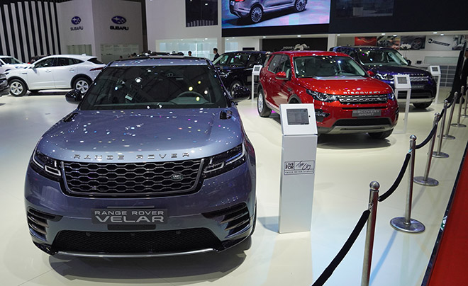 Jaguar Land Rover mang đến không gian đậm chất thể thao tại VMS 2019 - 7