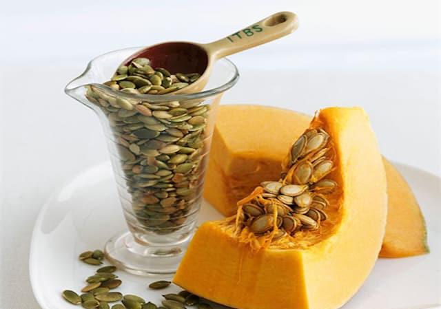 Hạt bí chữa bệnh cực tốt, làm khỏe gan, chống tiểu đường - 1