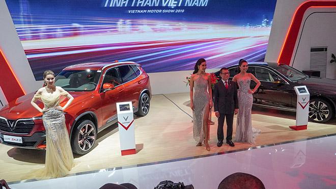 VinFast tâm điểm chú ý tại triển lãm Ô tô Việt Nam 2019 - 3