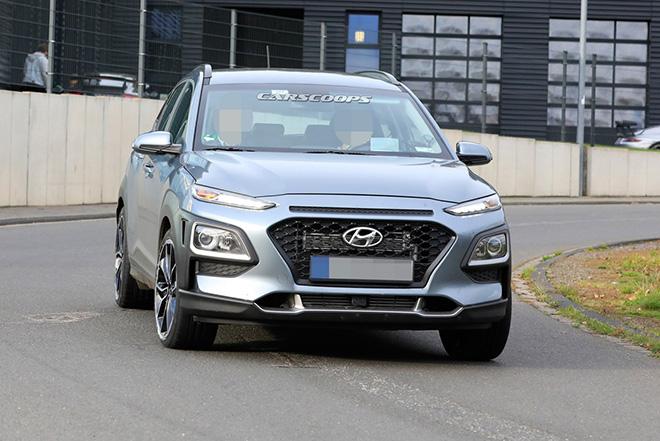 Hyundai Kona N 2020 lộ ảnh chạy thử không ngụy trang - 2