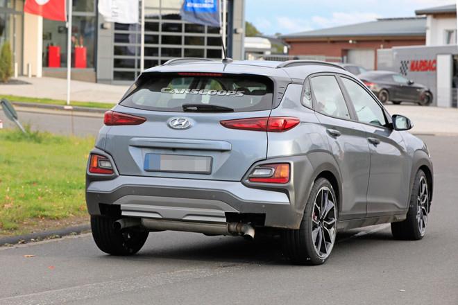 Hyundai Kona N 2020 lộ ảnh chạy thử không ngụy trang - 3