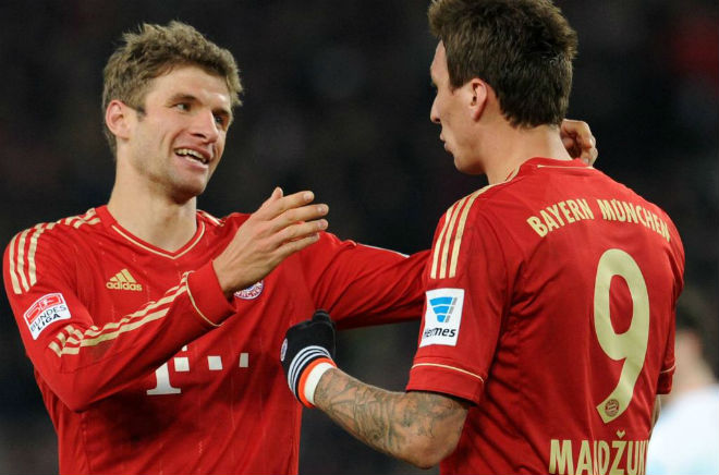 """Nếu MU mua """"song sát"""" Muller - Mandzukic, Solskjaer có đội hình siêu tấn công - 1"""