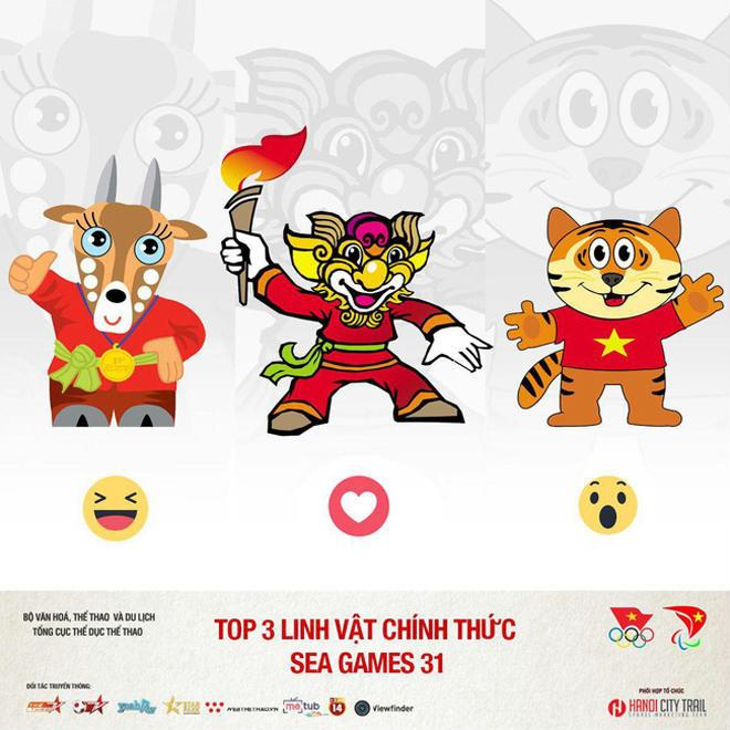 Tranh cãi linh vật SEA Games 31 tại Việt Nam