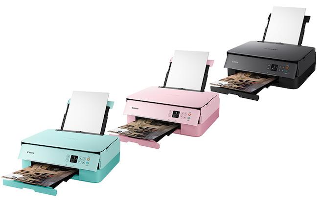 Canon giới thiệu bộ 3 máy in mới có kết nối không dây, QR Code - 3