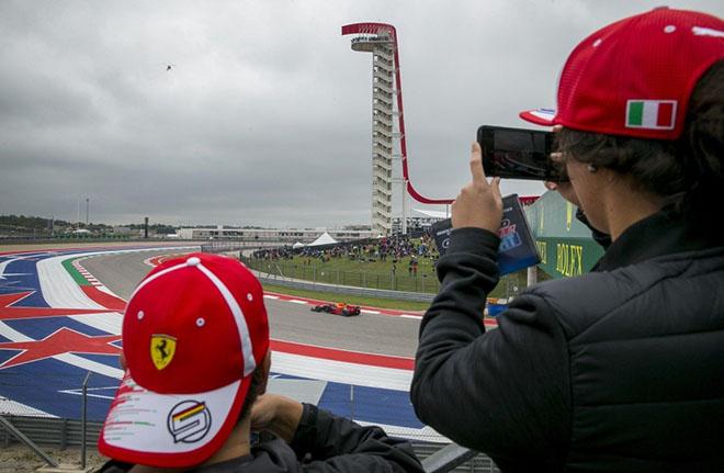 """Đua xe F1, US GP: Danh hiệu vô địch chờ đợi """"Viên ngọc đen"""""""