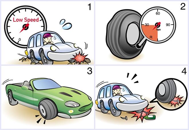Lốp xe bị phù, nguy cơ tai nạn cao nếu không khắc phục sớm - 3