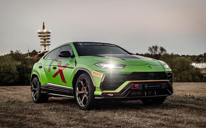 Vén màn Lamborghini Urus ST-X Racer - Siêu SUV đầu tiên trong thế giới đua xe thể thao