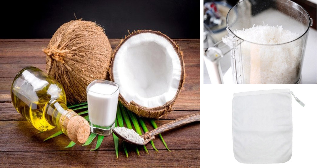 Cách làm dầu dừa tại nhà cực nhanh đơn giản đảm bảo nguyên chất - 1