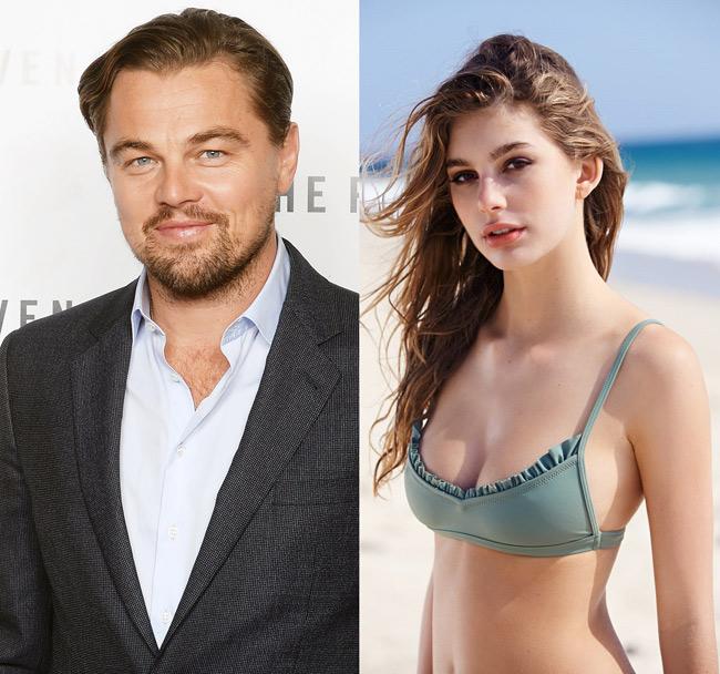 Bồ trẻ kém 23 tuổi của Leonardo DiCaprio mặc hở bạo hiếm ai bằng - 1