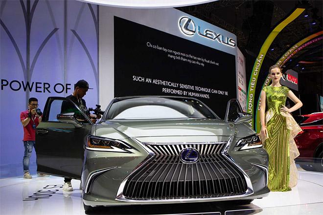 Lexus ES 300h 2019 sắp được nhập khẩu chính hãng tại Việt Nam - 7