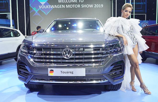 Volkswagen Touareg trưng bày tại VMS 2019 không bị tiêu hủy - 3