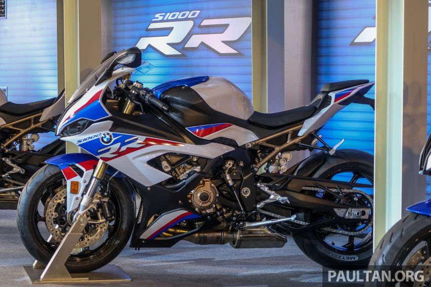 2020 BMW Motorrad S 1000 RR ra mắt với gói độ M Sport, giá từ 771 triệu đồng