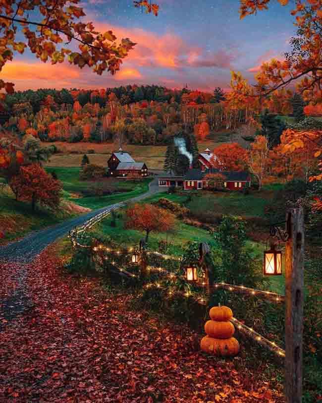 Mùa thu ở các nước trên thế giới rực rỡ và đẹp đến nhường nào? - 4