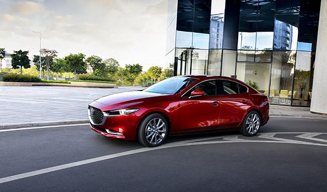 Cận cảnh Mazda3 thế hệ mới bản sedan vừa ra mắt, giá từ 719 triệu đồng - 2