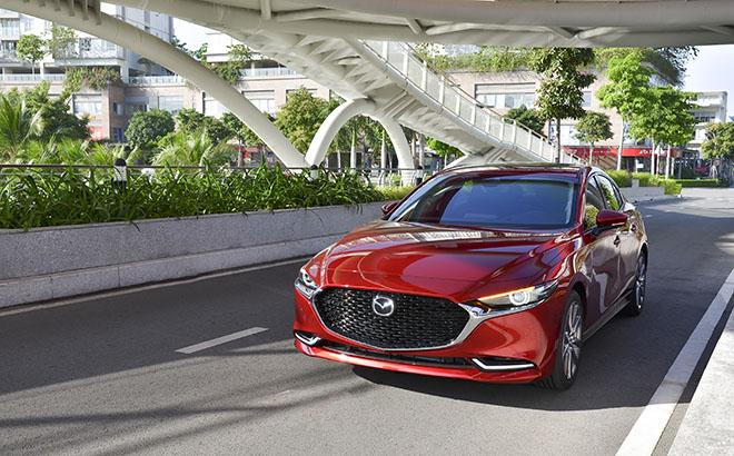 Cận cảnh Mazda3 thế hệ mới bản sedan vừa ra mắt, giá từ 719 triệu đồng - 5