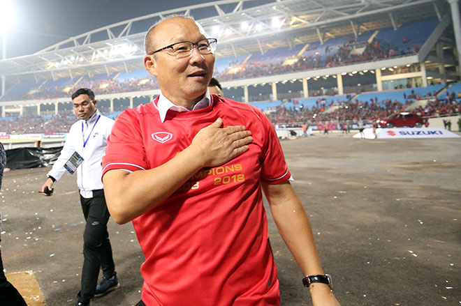 Chính thức gia hạn hợp đồng với VFF, HLV Park Hang Seo nói gì? - 1