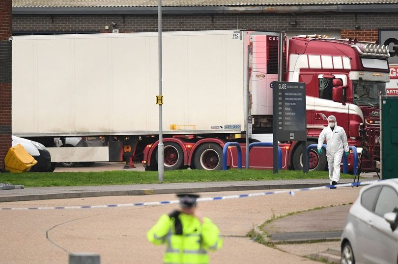 Bộ Công an: 39 người tử vong trong xe container tại Anh đều là người Việt Nam - 1