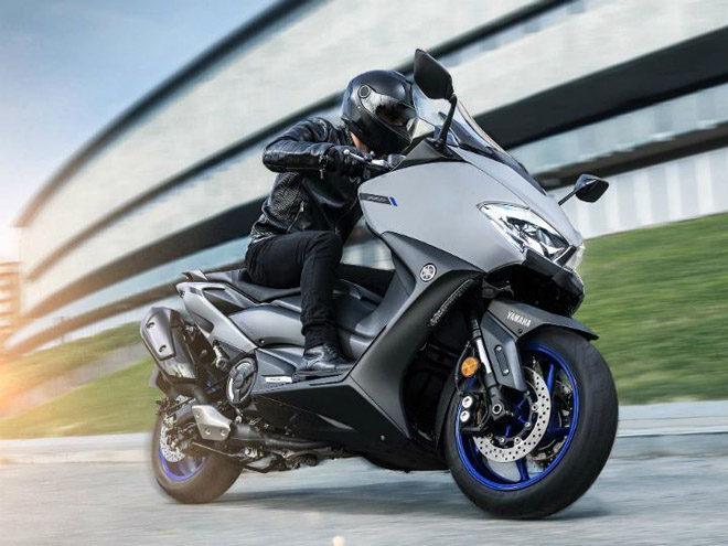 """2020 Yamaha Tmax hoàn toàn mới ra mắt, sở hữu động cơ """"khủng"""""""