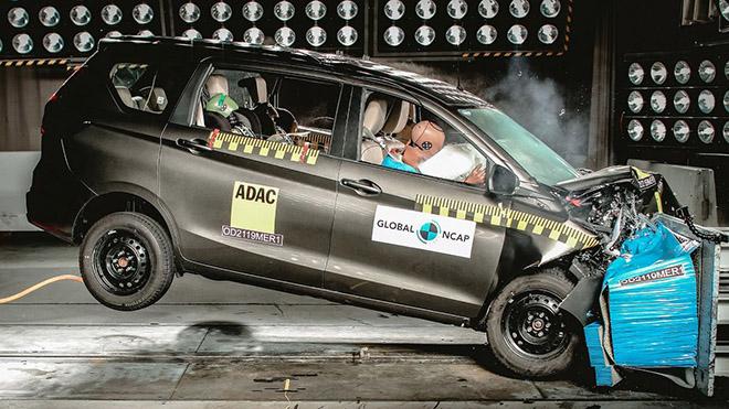 Global NCAP chỉ đánh giá 3 sao cho thế hệ mới của Suzuki Ertiga - 2