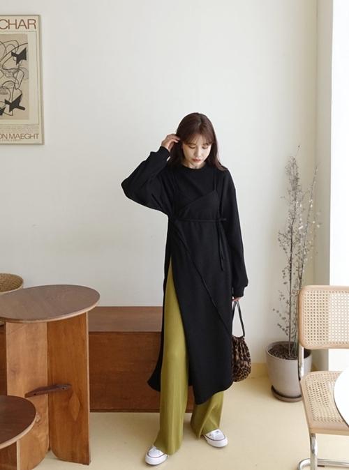 5 cách mặc váy hè siêu chất mùa thu đông - 7