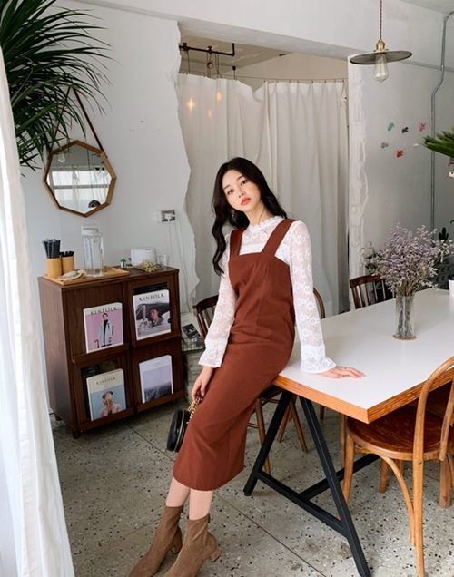 5 cách mặc váy hè siêu chất mùa thu đông - 8