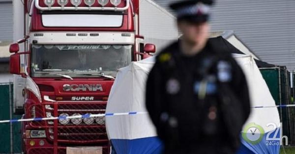 Anh: Đã xác định danh tính toàn bộ 39 người chết trong xe container