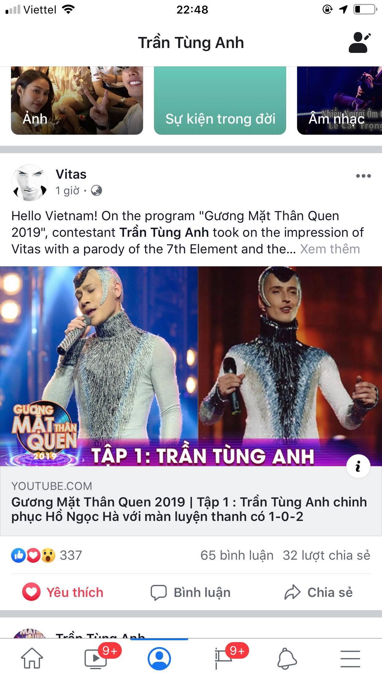 Giọng ca phi giới tính Việt Nam được huyền thoại Vitas khen ngợi là ai? - 2
