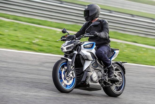 Kymco RevoNEX bản thương mại ra mắt, tăng tốc từ 0-100 km/h trong 3,9 giây