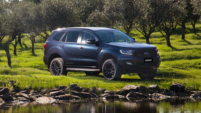 Ford Everest Sport 2020 trình làng, thêm tùy chọn màu sơn ngoại thất - 4