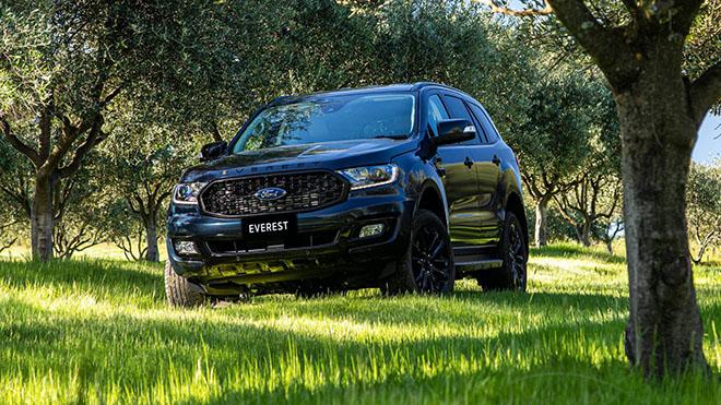 Ford Everest Sport 2020 trình làng, thêm tùy chọn màu sơn ngoại thất - 8