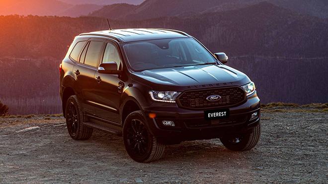 Ford Everest Sport 2020 trình làng, thêm tùy chọn màu sơn ngoại thất - 1