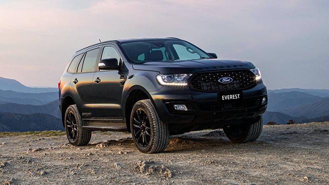 Ford Everest Sport 2020 trình làng, thêm tùy chọn màu sơn ngoại thất - 7