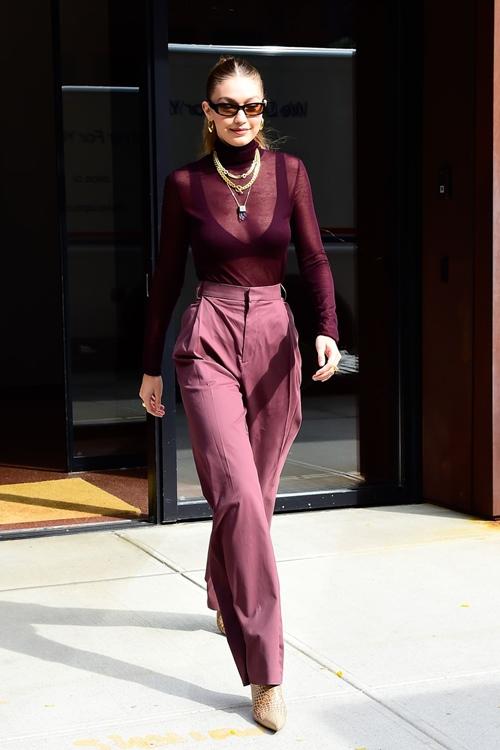 4 nguyên tắc giúp Gigi Hadid mặc ton sur ton đẹp khó ai sánh bằng - 2