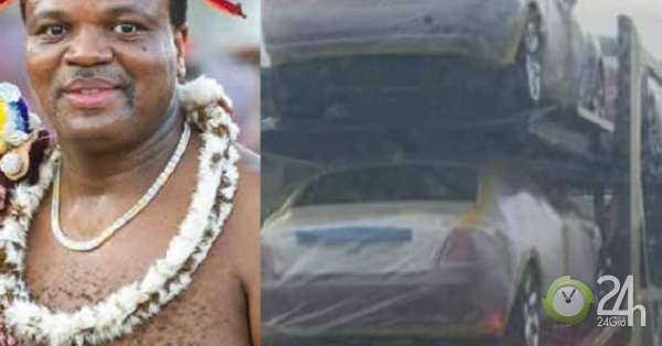 Vua châu Phi vung tiền mua hàng chục xe sang Rolls-Royce cho 15 bà vợ