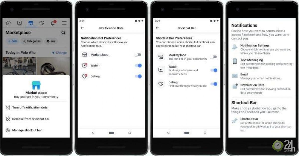 Facebook cho tắt thông báo màu đỏ trên ứng dụng-Công nghệ thông tin