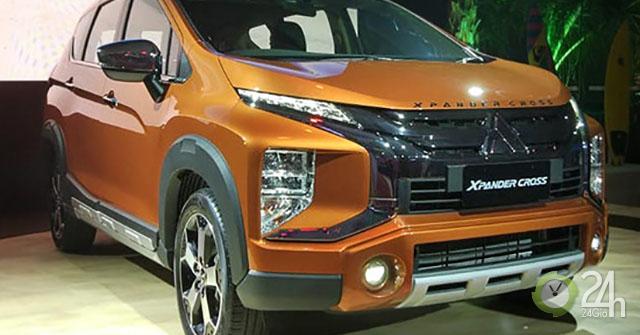 Mitsubishi Xpander với biến thể SUV chính thức ra mắt Đông Nam Á