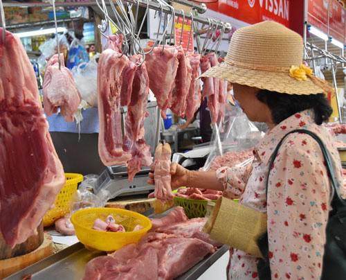 Căng thẳng giá thực phẩm Tết - 1