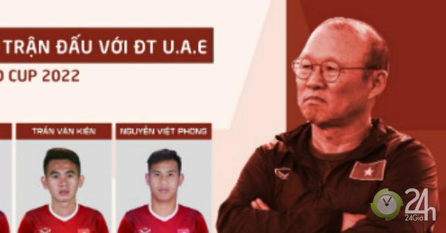 2 SAO bị thầy Park loại trước trận ĐT Việt Nam đấu UAE là ai?