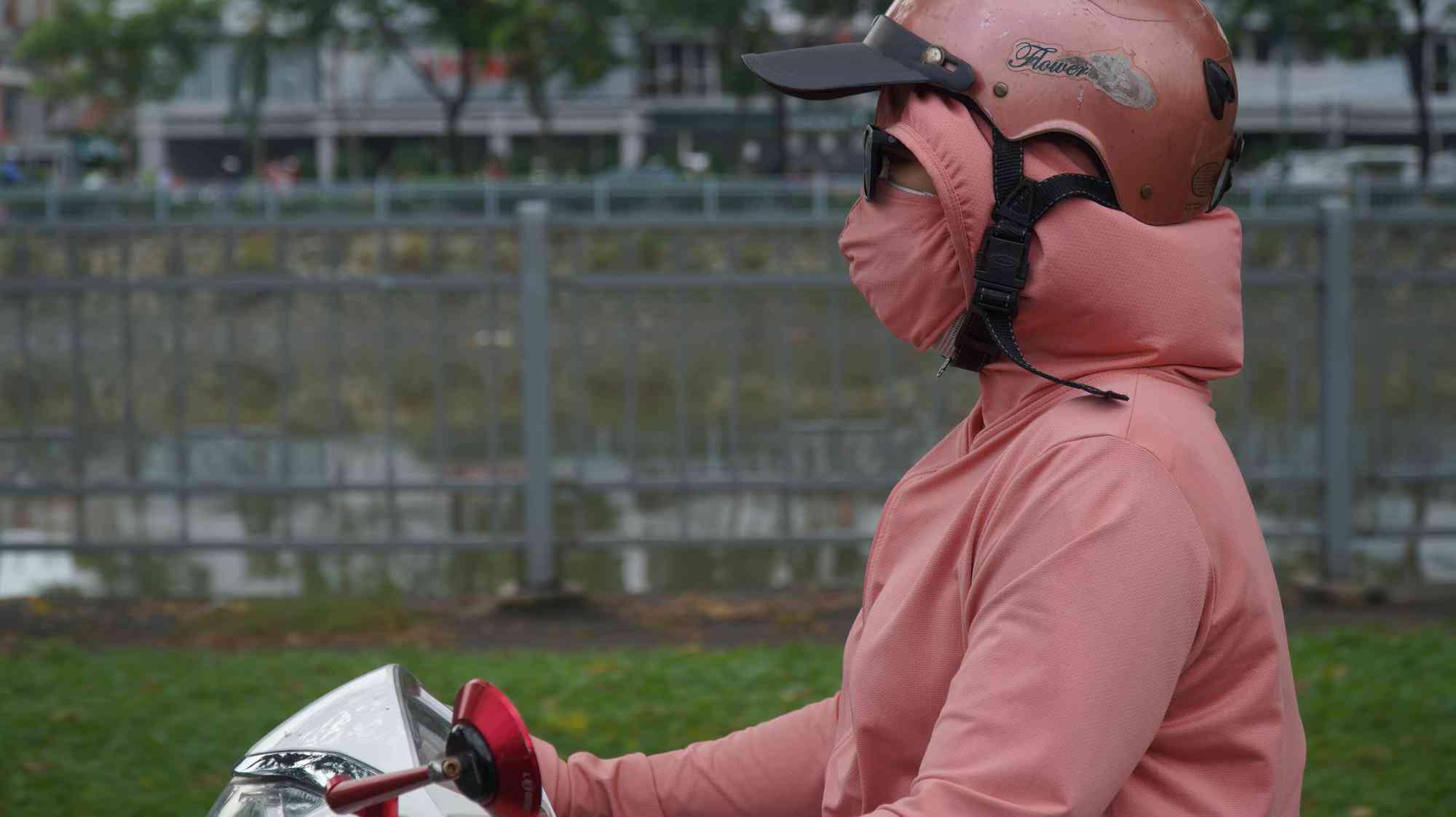 TP HCM: Toàn bộ trạm đo mức ô nhiễm không khí hiện màu nguy hiểm - 2